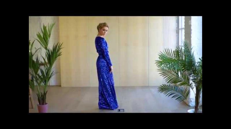 Вечернее платье Gossip Girl Blue