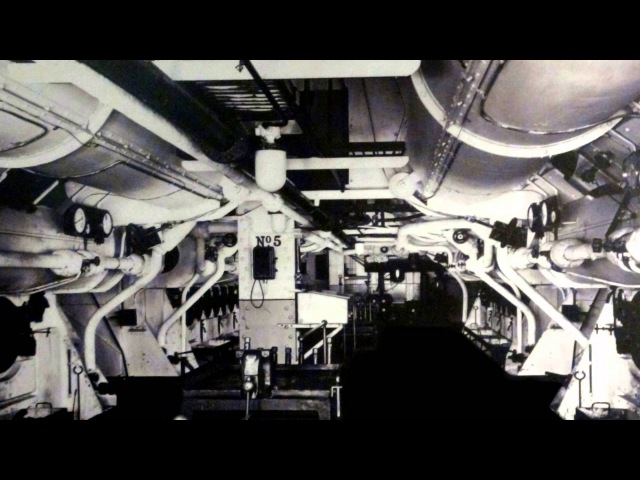 RMS Queen Mary - Engine Room Tour with the voice of David Main