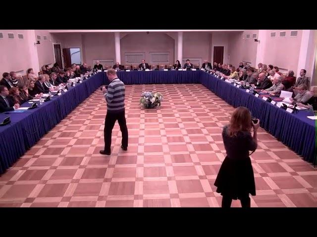 Общественный совет Петербурга провел последнее заседание в 2017 году