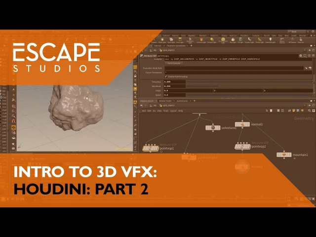 Intro to 3D VFX: Houdini Part 2