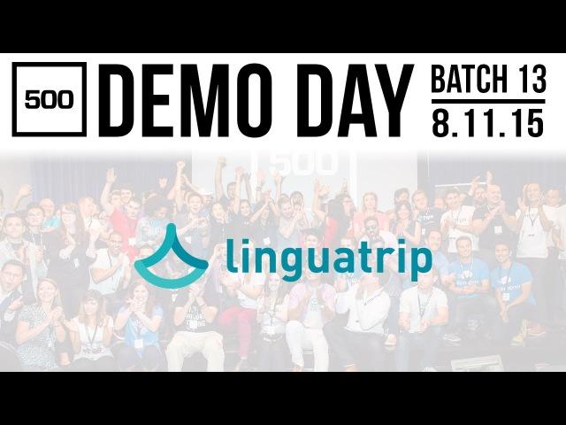 [500 STARTUPS DEMO DAY 2015] BATCH 13, Linguatrip