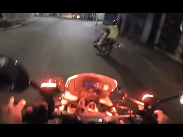 КРУТАЯ погоня года за мотоциклистом! Лучше, чем в кино! / ADRENALIN! The HOT Pursuit of the Year