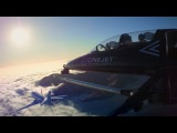 Helinet Aviation and Patriots Jet Team Debut Groundbreaking CineJet