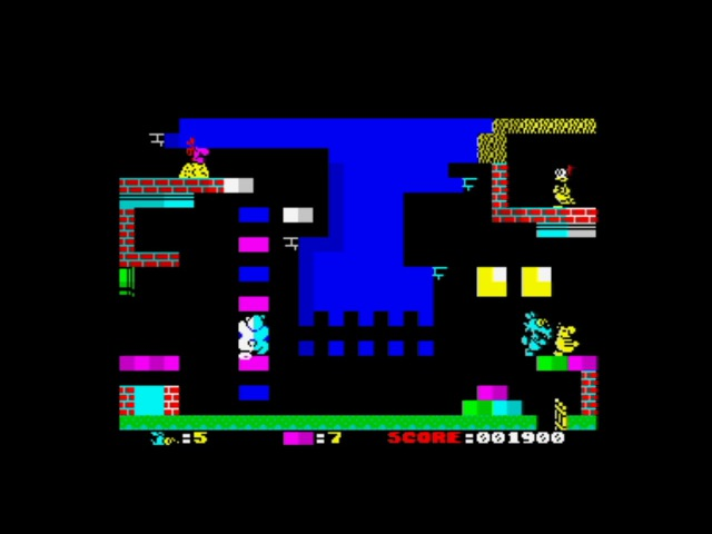 Lupo Alberto (2016) Walkthrough, ZX Spectrum