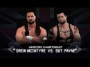 WFW NXT Takeover - Sgt. Payne vs Drew McIntyre [Hardcore Championship]