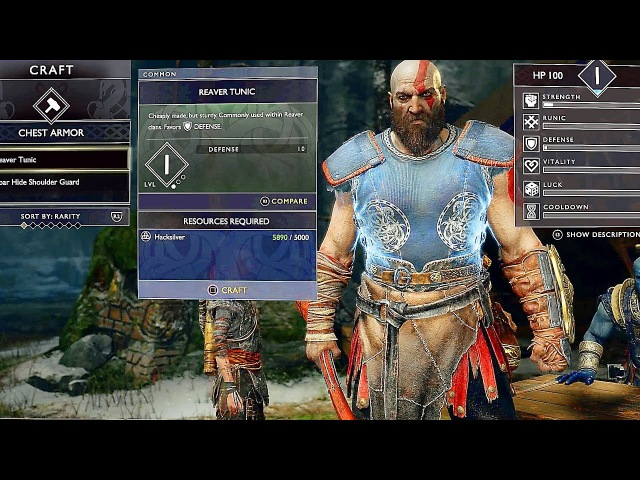 GOD OF WAR 4 - NEW 20 Minutes Gameplay Demo Kratos New Gear Armor Showcase PS4 (2018)