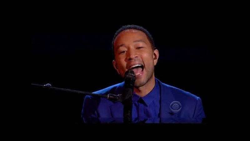 Alicia Keys John Legend - Let It Be (Tribute to The Beatles, 2014), 720p, HQ audio