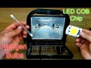 How to Replace Convert a Halogen Floodlight with an LED Chip