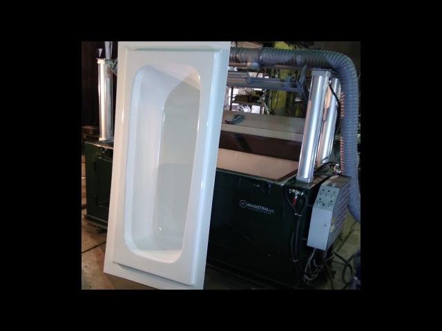 вакуум формовочная машина эконом, термоформовочный станок, thermoforming equipment
