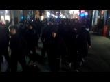 Антифашистская демонстрация в Познани, Польша