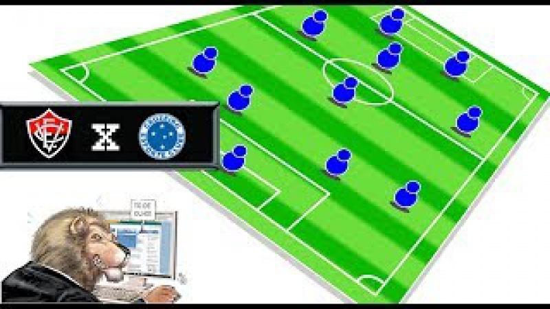 Vitória x Cruzeiro, tudo pronto confira jogadores relacionados e provável time