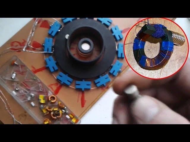 Как на самом деле работают все магнитные БТГ и вечные двигатели смотреть до конца