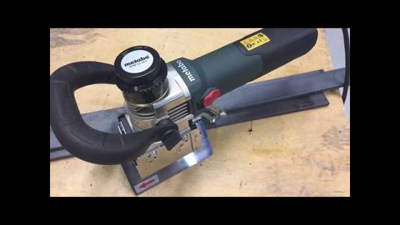 How To Metabo KFM 15 10 F Kantenfräse Inbetriebnahme taking bevelling tool into operation