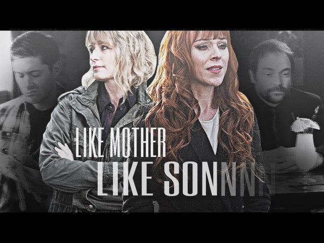 Rowena and Mary Like mother like son