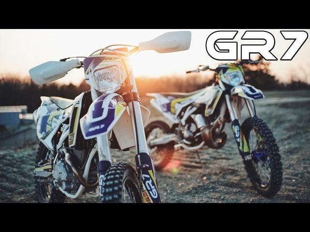 Китайская Husqvarna Обзор мотоциклов GR7 250