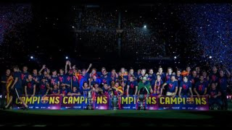 FC Barcelona ► Treble | The MOVIE | 2015 | HD