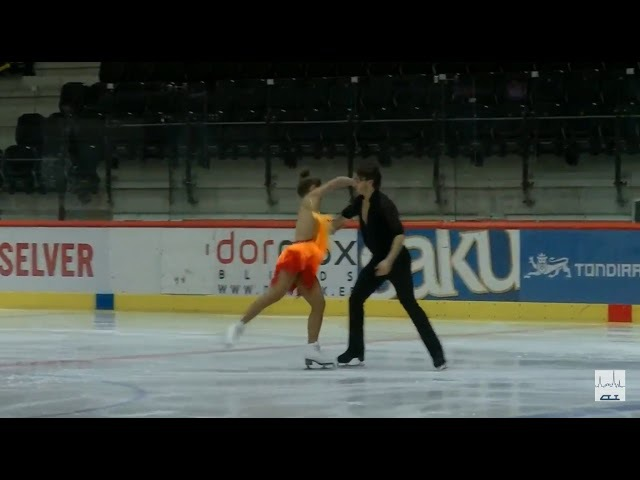 4 Kavita LORENZ / Joti POLIZOAKIS (GER) - 2017 TA⅃⅃INN TROPHY - SENIOR Ice Dance - SD