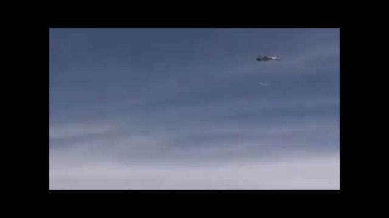 Пуск крылатой ракеты Брамос с Су-30МКИ