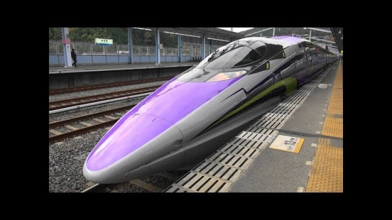 500系 タイプ エヴァ新幹線 運行開始 (山陽新幹線) 500 TYPE EVA Evangelion Shinkansen