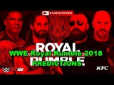 WWE Royal Rumble 2018 Raw Tag Team Championship Seth Rollins & Jason Jordan vs Cesaro & Sheamus