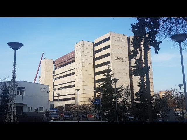Снос здания на ул Годовикова Калибр