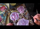 №2. Как нарисовать розу. Рисуем лессировками в стиле голландского натюрморта