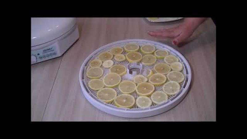 Как высушить лимон в домашних условиях