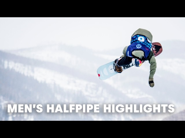 Men's Halfpipe Highlights | Burton US Open 2018