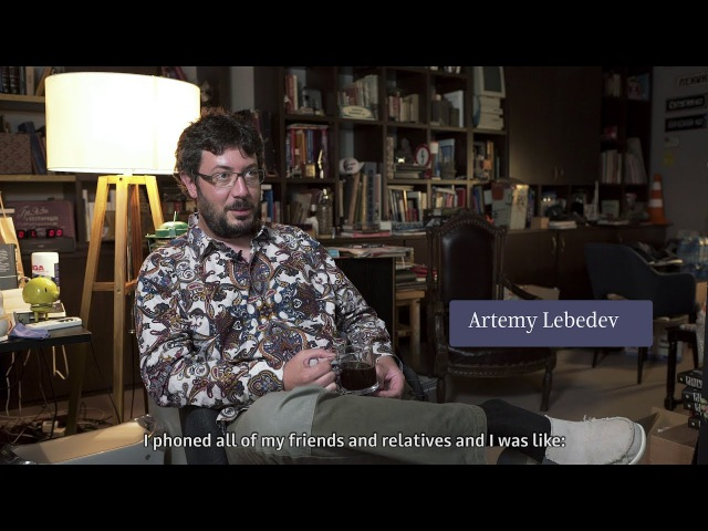 A film about Art. Lebedev Studio