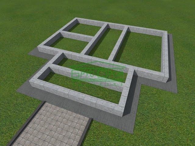 Ленточный фундамент под дом из бруса 7х9 ktynjxysq aeylfvtyn gjl ljv bp ,hecf 7[9