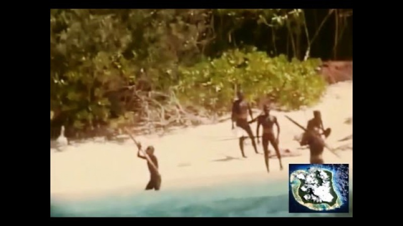 North Sentinel Island real footage. The most dangerous tribe in the world.