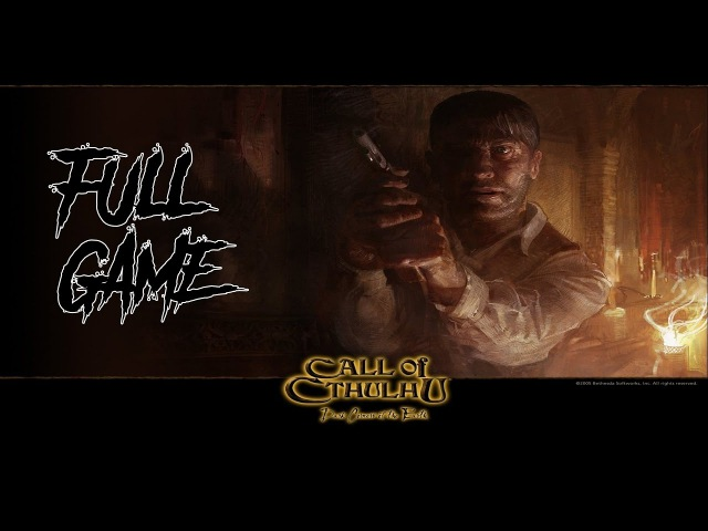 Call of Cthulhu: Dark Corners of the Earth FULL Walkthrough No Commentary Part 1 Longplay (PC)