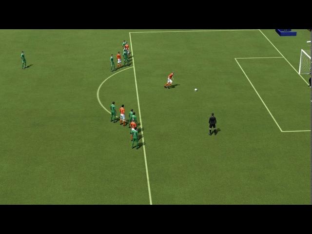 FIFA 14 (Classic Patch) Holanda 1x0 Arábia Saudita WC 1994