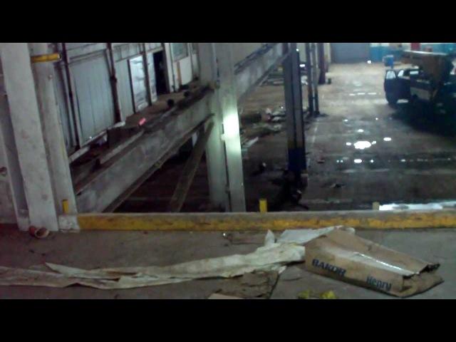 Abandoned Factory Indoor Motocross Urban Exploration