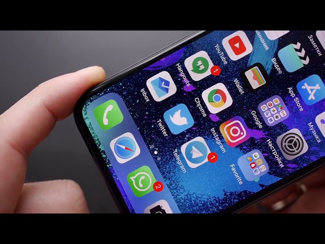 Обзор iPhone X внешний вид, экран, жесты