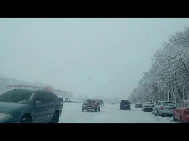 18.01.2018 Снігопад. Золотоноша. 2018