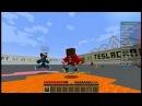 День в Minecraft - 82 серия. Играем в Агарио на сервере TeslaCraft