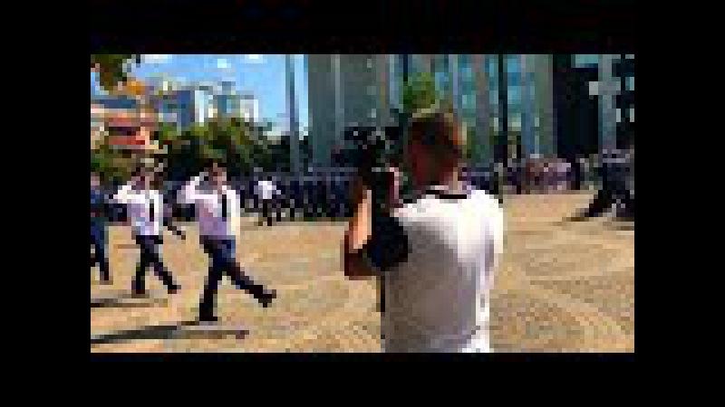 Торжественный марш 02.09.2017 присяги КВВАУЛ