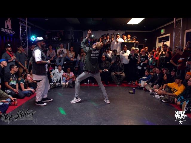 Boogie Frantick vs Slim Boogie | Top Status (Top 4 Popping)