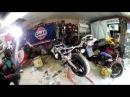 Переборка и замена масла пера вилки Honda cbr 600 f3. Мотомастерская г.Краснодар