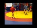 Самбо Дети Комбинация отхват-подсечка изнутри и упражнение для изучения
