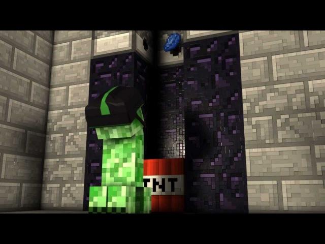 Creeper Fireworks - Minecraft Animation