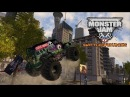 СЛИШКОМ ПОВОРОТЛИВЫЕ БИГФУТЫ Monster Jam Battlegrounds 1