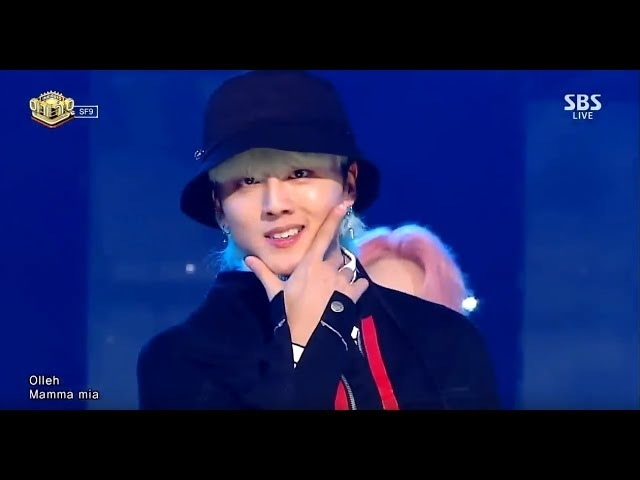 SF9 MAMMA MIA 맘마미아 교차편집 stage mix