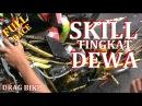 MERINDING DRAG FULL RACE SKILL TINGKAT DEWA NINJA TU 155cc VIDEO DRAG BIKE