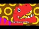 Tyrannosaurus Rex | Dinosaur Animal Song for Kids | Original Nursery Rhymes by BooBoo