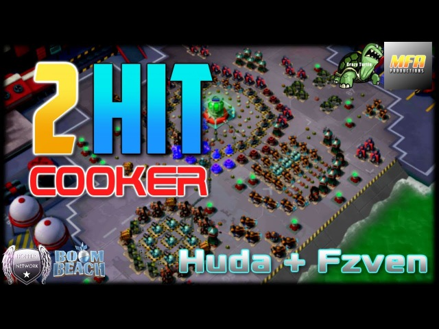 Boom Beach COOKER 2 HITS One of the BEST BULLIT Opening Hits EVER An MFA Short