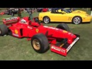 70 cars for 70 years! On the lawn at Casa Ferrari with Pebble Beach Concours d'Elegance