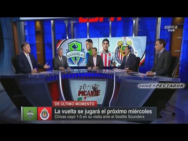 Analisis del SEATTLE vs CHIVAS - Cuartos Ida Concachampions 2018 - Futbol Picante