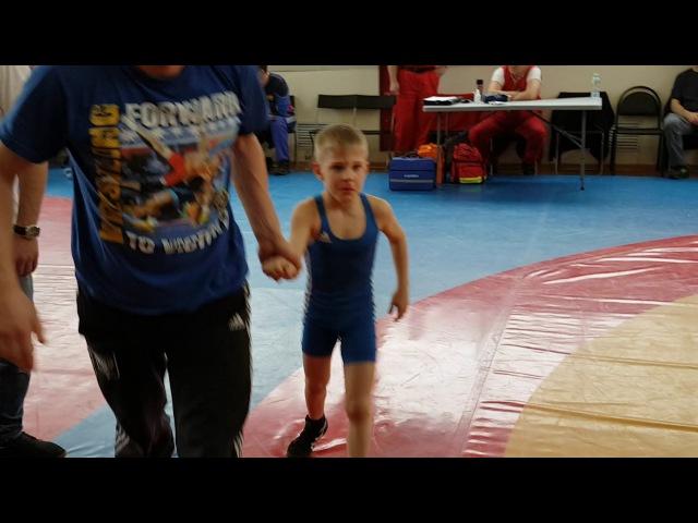 Пыльцин Максим вольная борьба очень захватывающая и динамичная борьба за выход в финал 24 кг 2008-09
